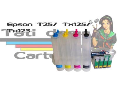Bulk Ink: Bulk Ink Epson: Bulk Ink Impressoras Epson T25/ T123/ T125